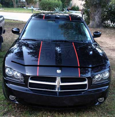 Dodge Charger Stripes Decals Stripes Fit Dodge Charger