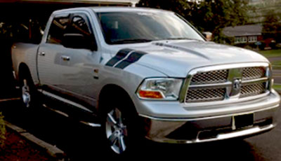 4x4 Bedside Decals For Any Dodge Ford Chevrolet Nissan