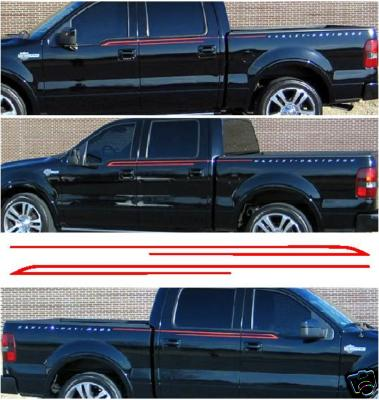 Hollow Flame Graphics Decal Decals Fit Any Ford F150 250
