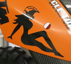CowboyCowgirl Decals  House Of Grafx Your One Stop Vinyl - Motorcycle helmet decals for ladies