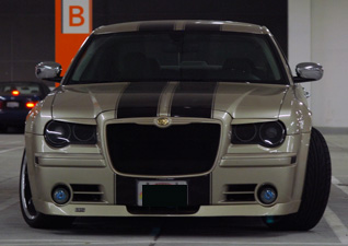 Rear Emblem Overlay Decal Decals Made To Fit Chrysler 300c