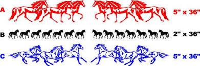 Horse Horses Hood Graphic Decal Decals Truck Farm Foal Horses -  horse graphics for trucks