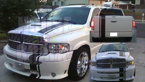 Custom Gradient Ram Truck Bed Side Bed Custom Vinyl Decals - Truck bed decals custom