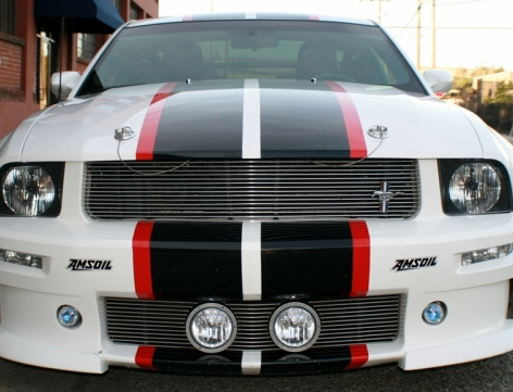 2 Color Rally Racing Stripe Stripes Graphics Fits Ford