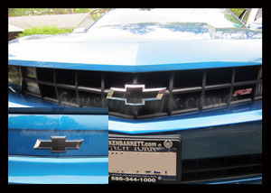05 09 Mustang Reverse C Stripe Boss Style Graphics Decal