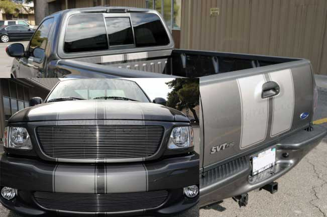 05 12 Ford F150 Rocker Stripes Graphics Decal Decals Roush