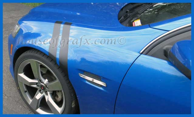 Fender Hash Sport Stripe Decals Decal Pontiac G8 Gt Gxp 15 G8 18 00 House Of Grafx Your