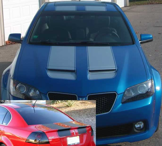 11 5 Racing Rally Stripe Stripes Decals Decal Fit Pontiac