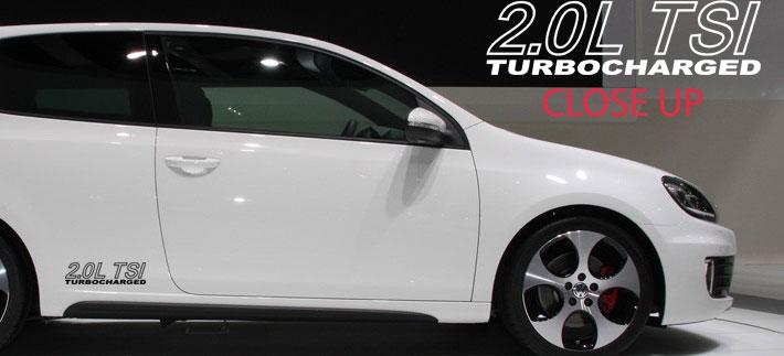 Volkswagen VW GTi 2.0L rocker decal decals graphic sticker [82-VW] - $15.00 : House of Grafx ...