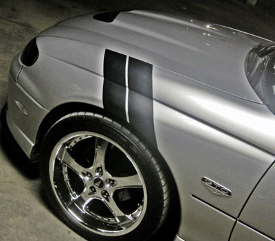 04 06 Gto Fender Hash Grand Sport Racing Stripe Decals