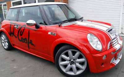 Mini Cooper Countryman Coupe Side Body Graphics Decals