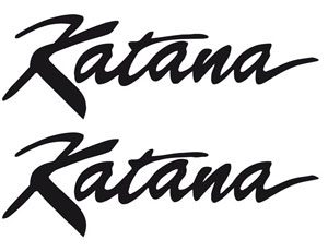 Motorcycle Bike Suzuki Katana Decals Decal Stickers Graphics 212