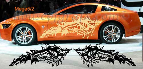 Claw Ripping Tear Body Decal Decals Graphics Universal Car