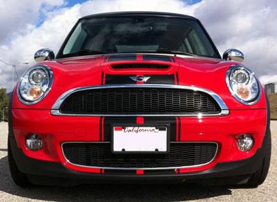 Viper Stripes Decals Graphics Fit Mini Cooper Coupe