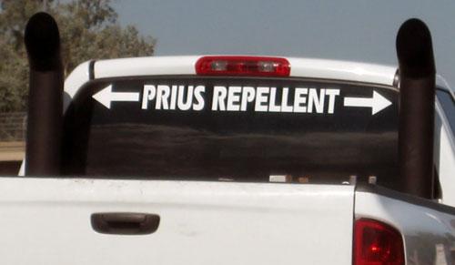 Remove Sticker From Windshield >> Prius Repellent windshield banner - Dodge Cummins Diesel Forum