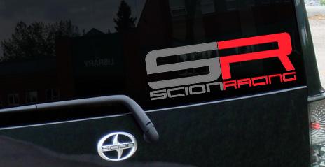Toyota Scion Rear Window Decal Decals Sticker 330 Grafx