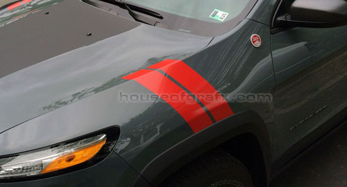 Jeep Cherokee Or Trailhawk Fender Hash Stripe Stripes