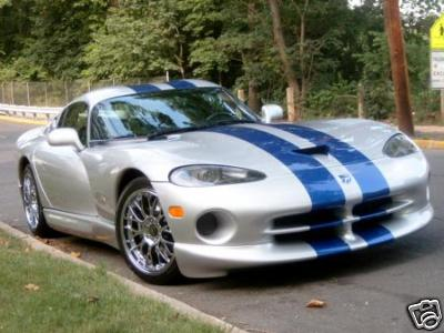 8 Racing Rally Stripes Decal Decals For Dodge Viper Gts