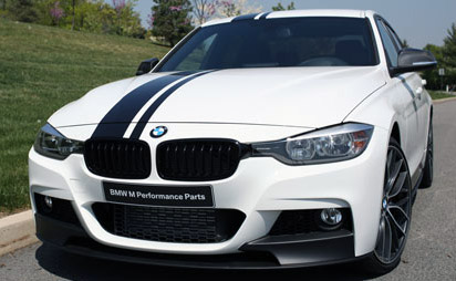 Performance Offset Stripes Decals Fit Any Series BMW - Bmw rocker panel decals