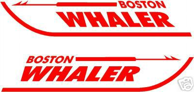 Boston Whaler Boat Restoration Vinyl Decals Decal Sticker Small - Custom vinyl decals boston