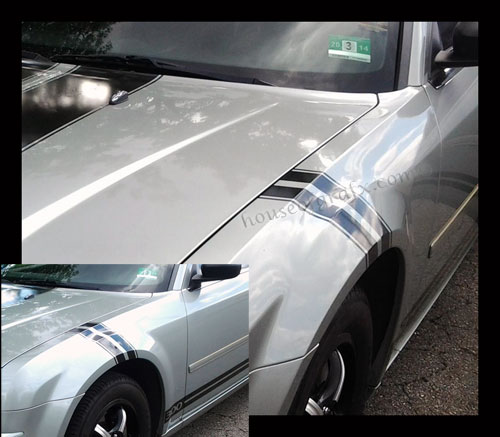Fender Stripes Hashes Decals Fit ANY YEAR Or MODEL