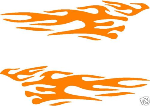 Car truck motorcycle boat flame flames decal decals 4x4 graphics