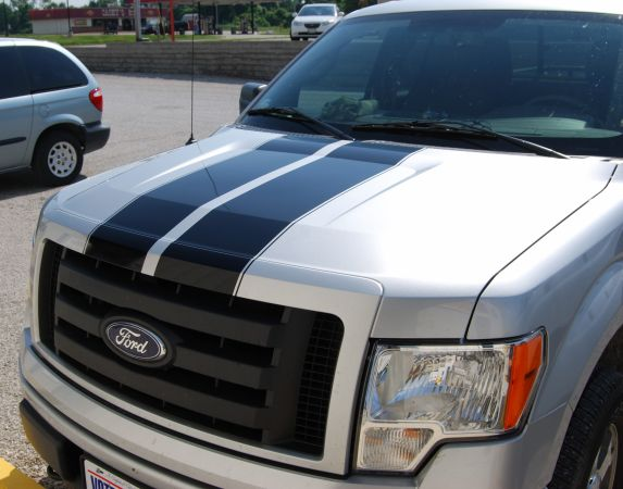 Rally Stripe Stripes Decals Graphics Fit Any Yr Ford F150