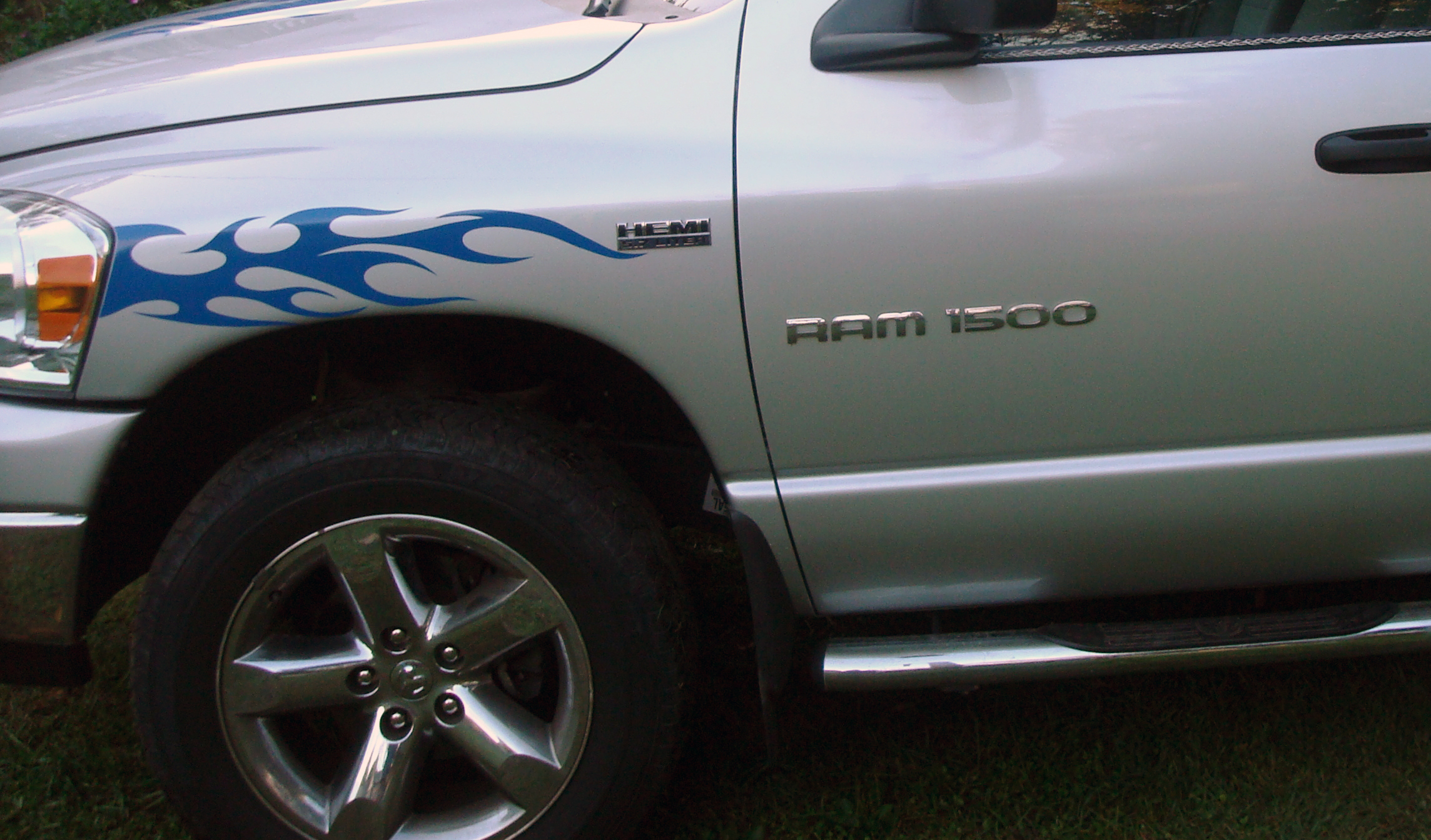 Fender flame decal decals graphics fits chevy dodge ford toyota