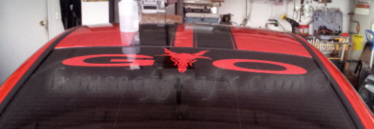 Angry Goat Decal Decals Stickers Will Fit Any Pontiac Gto