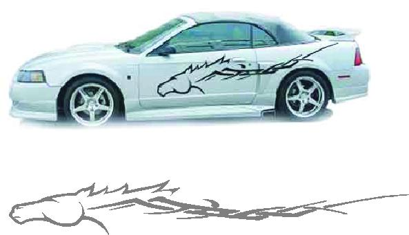 Reviews Horse Pony Tribal Car Truck Trailer Decal Decals
