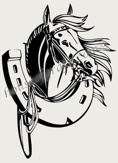 Tribal Horse Side Body Decal Decals Graphic Graphics Car