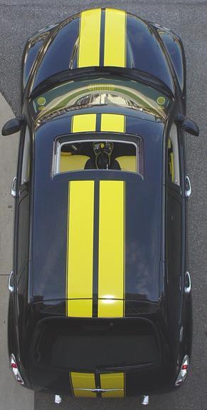 Chrysler Pt Cruiser Racing Rally Stripe Stripes Graphics