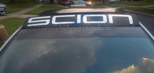 Toyota Scion Vehicle Decal Decals Sunroof Banner Graphic B