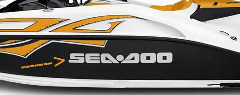 Restoration Decals Seadoo Sea Doo Speedster Challenger