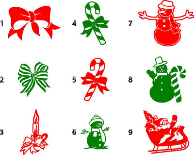 Christmas Decals : House of Grafx, Your One Stop Vinyl ...