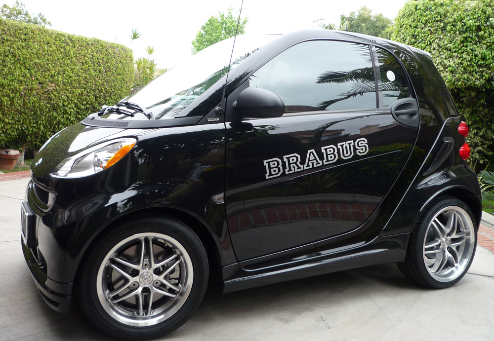 Smart Car Brabus Side Body Vinyl Decal Decals Sticker Graphics - Custom car body stickers