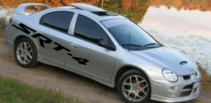 Side Body Graphics Decals Decal Fits Any Dodge Neon Srt 4 4 Srt 49 00 House Of Grafx