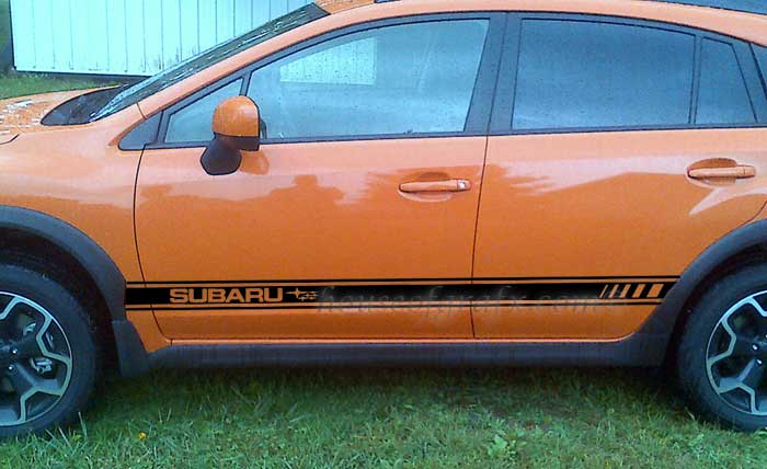 Rocker Panel Decal Decals Graphics Fit 2013 Subaru