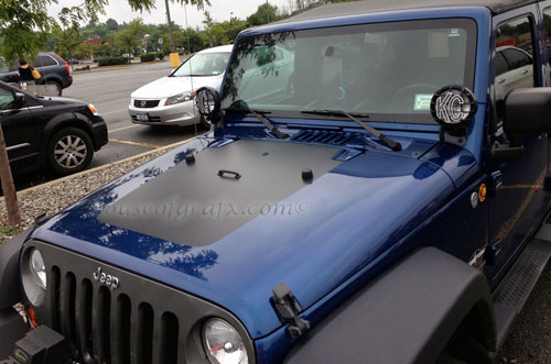 Vinyl Jeep Wrangler Hood Stripe Decal Graphic Hood - Jeep hood decalsgraphics for jeep wrangler hood decals and graphics www