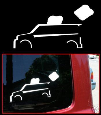 Toyota Scion Xb Toaster Vinyl Sticker Decal Decals 332