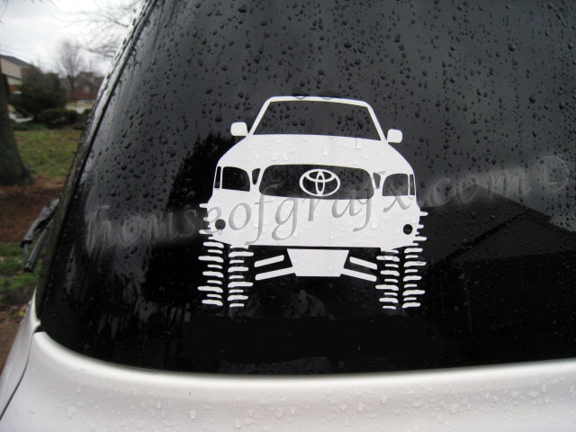 Trd Decal Decals Sticker Graphic Fits Any Toyota Car Truck