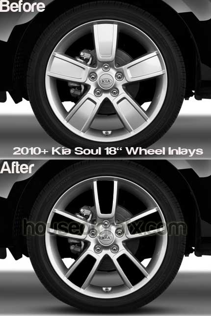 18 Wheel Rim Decal Decals Graphics Inlays Fit 09 11 Kia Soul 18